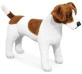 Melissa & Doug Kids' Plush Jack Russell Terrier Stuffed Toy
