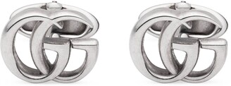 Gucci Silver cufflinks with DoubleG