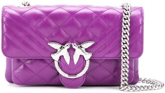 Pinko Quilted Cross Body Bag