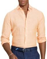 Polo Ralph Lauren Madison Linen Regular Fit Button Down Shirt