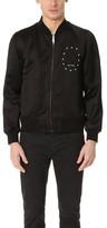 Marc Jacobs Satin Souvenir Bomber Jacket