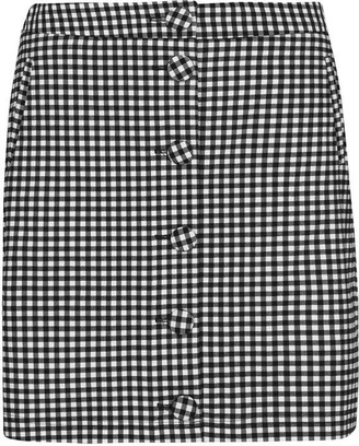 Oasis Gingham Mini Skirt