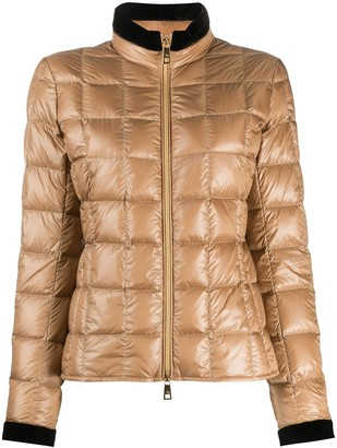 Fay Contrast-Trimmed Puffer Jacket