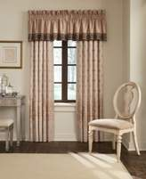"""Waterford Astor 18"""" x 55"""" Tailored Window Valance"""