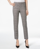 Charter Club Petite Printed Ankle Pants, Created for Macy's