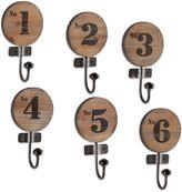 Dakota Southern Enterprises 6-Piece Numbered Hook Set