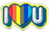 Anya Hindmarch 'I Love U' sticker - women - Leather - One Size