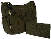 Travelon Anti-Theft Twin Pocket Bucket Bag & Wallet Set