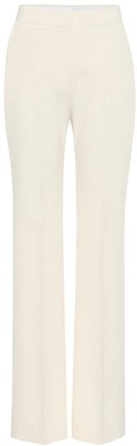 Victoria Victoria Beckham High-rise slim stretch-crepe pants
