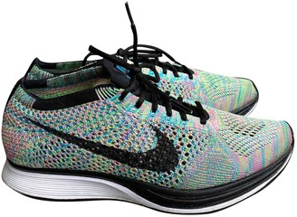 Nike Flyknit Racer Multicolour Cloth Trainers