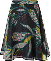 LK Bennett L.K.Bennett Kalia Geo Flowers Skirt, Multi