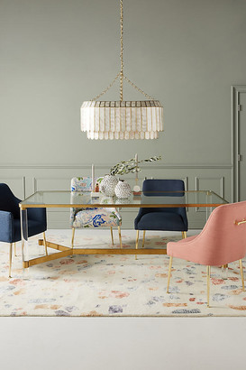 Anthropologie Oscarine Lucite Dining Table By in Gold