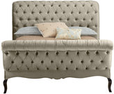 NM Exclusive Champagne Tufted King Bed