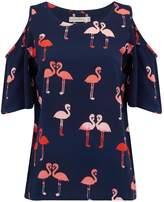 Sugarhill Boutique Skyla Flamingo Top