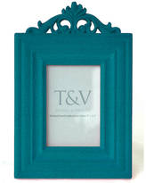 Thomas Laboratories & Vines Flocked French Style Photo Frame