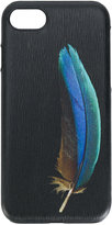 Paul Smith 'Feather' print textured iPhone 7 case