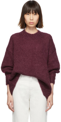 Isabel Marant Burgundy Idol Sweater