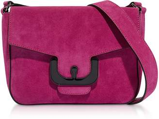 Coccinelle Ambrine Cross Suede Shoulder Bag