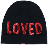 Gucci Loved beanie - women - Polyester/Wool - S