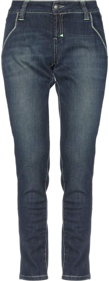 9.2 By Carlo Chionna Denim pants - Item 42732347RM