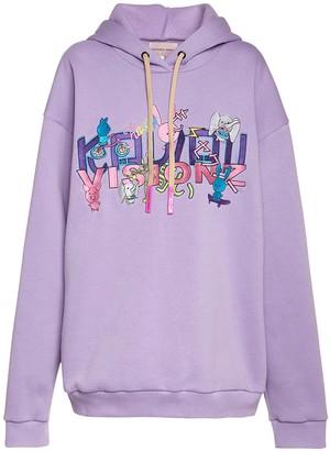 Natasha Zinko Embroidered Sweatshirt Hoodie