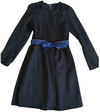 Sonia Rykiel Sonia By Black Cotton Trench Coat for Women