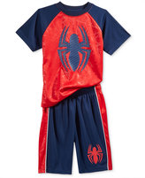 Spiderman 2-Pc. Graphic-Print T-Shirt & Shorts Set, Toddler & Little Boys (2T-7)
