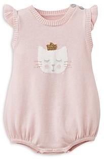 Elegant Baby Girls' Kitty Cotton Bodysuit - Baby