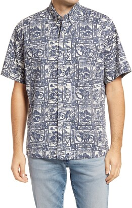 Reyn Spooner 2021 Year of The Ox Classic Fit Short Sleeve Button-Down Shirt