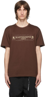 Mastermind Japan Brown Noise T-Shirt
