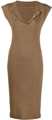 Jacquemus Knitted Sheath Dress