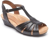 Rockport Hollywood Pleat Wedge Sandal - Wide Width Available