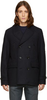 Belstaff Navy Corringham Coat