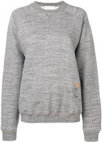 Victoria Beckham embroidered sweatshirt
