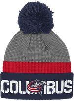 Reebok Adult Columbus Blue Jackets Cuffed Pom Knit Hat