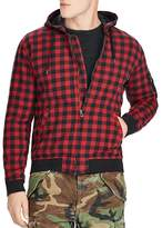 Polo Ralph Lauren Buffalo Plaid Hooded Bomber Jacket