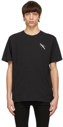 Saturdays NYC Grey Gotham Slash Chest T-Shirt