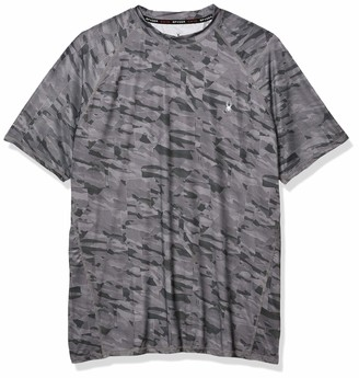 Spyder Men's Digital Camo Short Sleeve Rashguard
