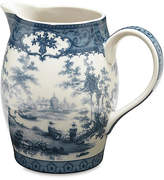 One Kings Lane Chinoiserie Lake Decorative Pitcher - Blue - Small