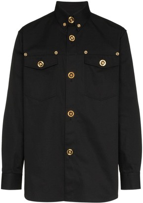 Versace button down shirt