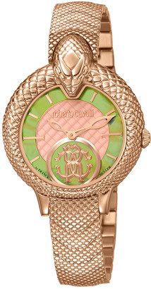 Roberto Cavalli By Franck Muller Women's Stainless Steel Watch