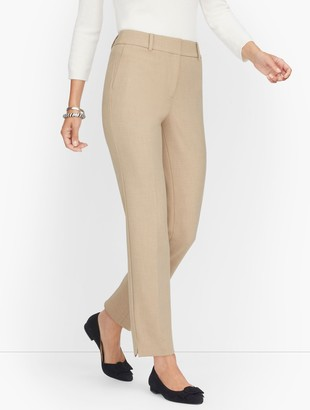 Talbots Luxe Stretch Slim Leg Trousers