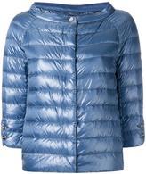 Herno collarless puffer jacket - women - Polyamide/Goose Down - 40