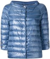 Herno collarless puffer jacket - women - Polyamide/Goose Down - 42