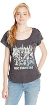 FEA Juniors' Foo Fighters Sonic Highway Juniors' Dolman T-Shirt