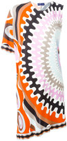 Emilio Pucci printed shift dress - women - Silk/Viscose - 40