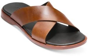 Cole Haan Men's Goldwyn Criss Cross Sandals Men's Shoes