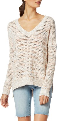 Habitual Vera V-Neck Knit Sweater