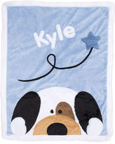 Boogie Baby Peek-a-Boo Puppy Blanket, Personalized