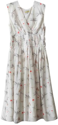 Hobbs White Silk Dress for Women